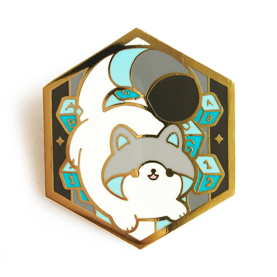 Paws of Demiboy Pin