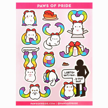 Paws of Pride Stickers