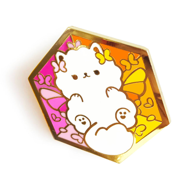 Paws of Lesbian Pin