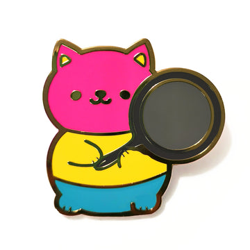 Pan Cat Pin