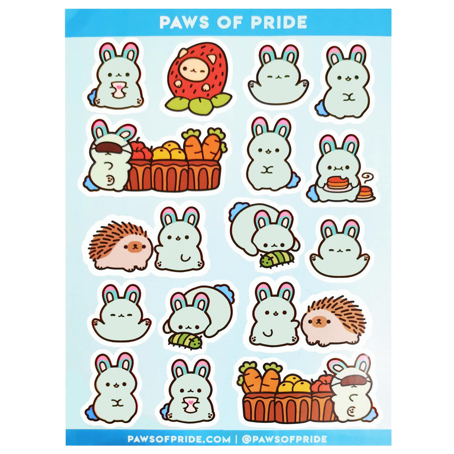 Paws of Polysexual Stickers