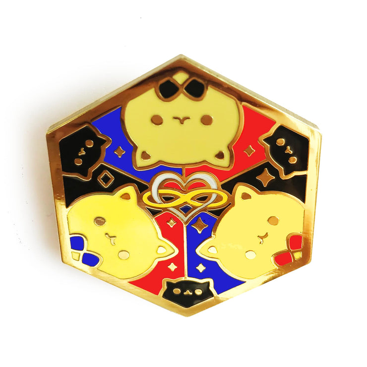 Paws of Polyamorous Pin