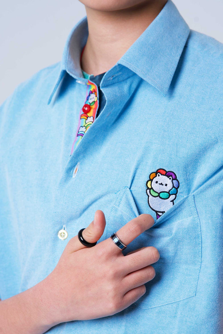 Cloud 9 Button Shirt
