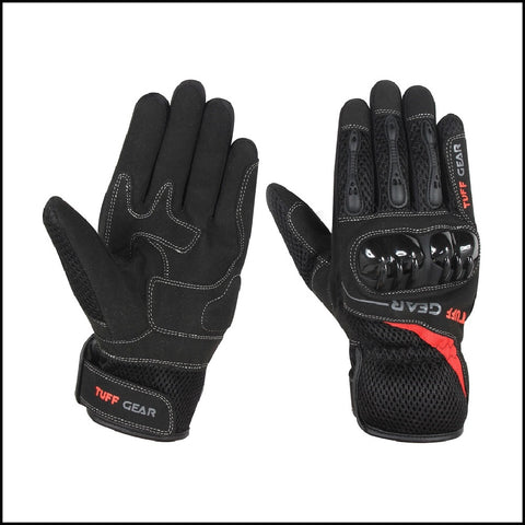 Tuff Gear Motorbike/Motorcycle Leather Gloves