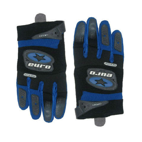 Motocross Motorcycle Gloves - Blue