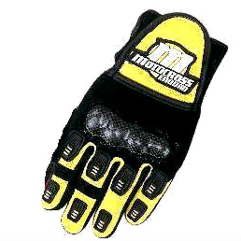 Motocross Motorcycle Gloves - Yellow