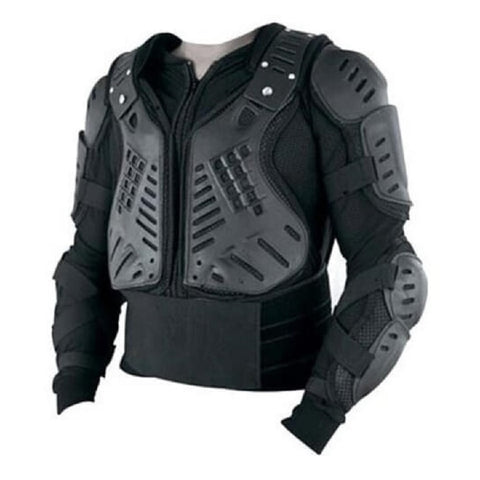 Tuff Gear Motocross BMX Leather Armour Jacket