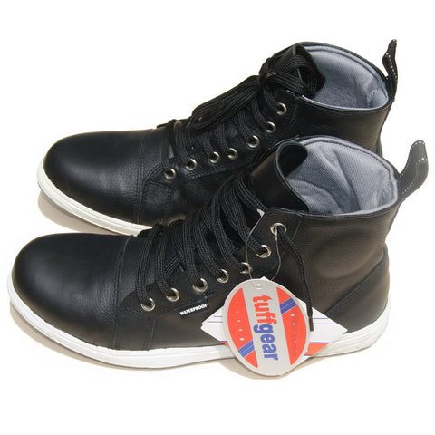 TUFF GEAR Leather Motorcycle Sneakers