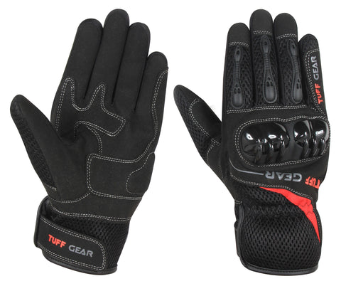 Tuff Gear Motorcycle/Motorbike Summer Gloves - Air Mesh