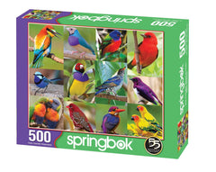 Springbok 500 Piece Jigsaw Puzzle Birds of Paradise