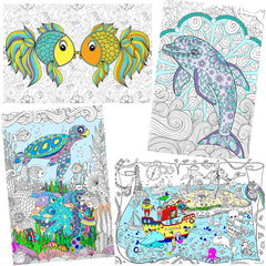 Great2bColorful Coloring Posters 24
