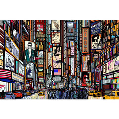 Great2bColorful Coloring Poster (3 Sizes~2 Paper Choices) -Times Square