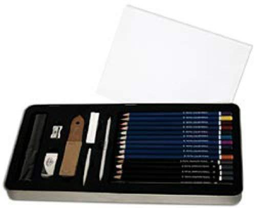 Royal & Langnickel Large Tin Sketching and Drawing 26 Piece Art Set