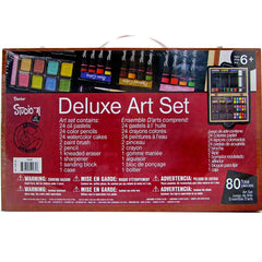 Studio 71 Professional Art Set in Wooden Case - 80 piece set