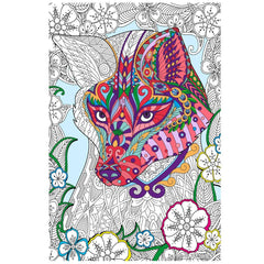 Great2bColorful Coloring Poster (3 Sizes~2 Paper Choices) - Crafty Fox