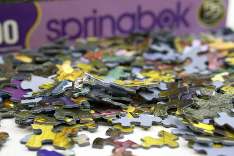 Springbok's 500 Piece Jigsaw Puzzle Marble Madness