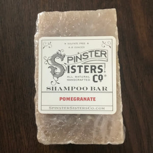Pomegranate Shampoo Bars