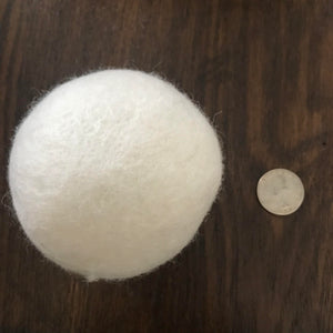Wool Dryer Ball (Sold in package of 1)