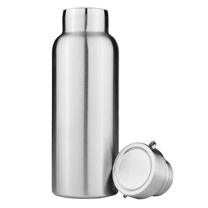 Water Bottle- Stainless Steel Double Wall Vacuum Insulated Travel Flask (1000ml)