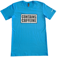 Contains Caffeine tee