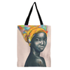 Black Rose African American Tote Bag