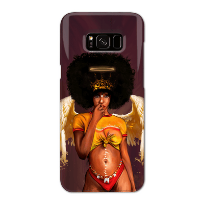 Negro Angel Black Excellence Phone Case