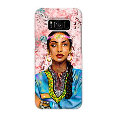 Sade Adu Black Excellence Phone Case
