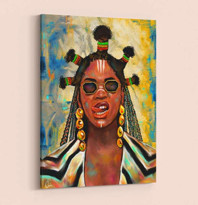 Beyoncé Black Is King Black Excellence Wall Mounted Canvas Art Home Decor