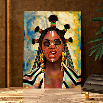 Beyoncé Black Is King Black Excellence Canvas Art Home Decor | How Should Beyonce Portray Africa In Black Is King