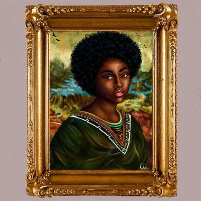 BLACK MONA LISA