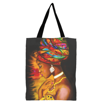 Nubian Queen Tote Bag