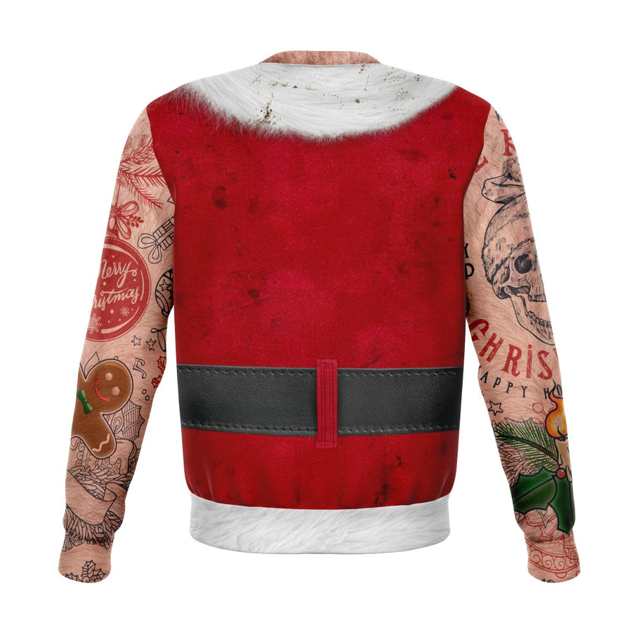 Bad Santa Ugly Christmas Sweatshirt