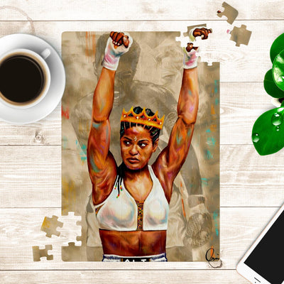 MOHAMMED ALI RUMBLE ART PUZZLE