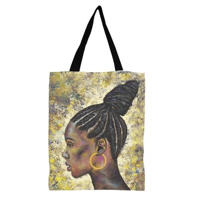 Wrapped In CornRows Black Excellence Tote Bag