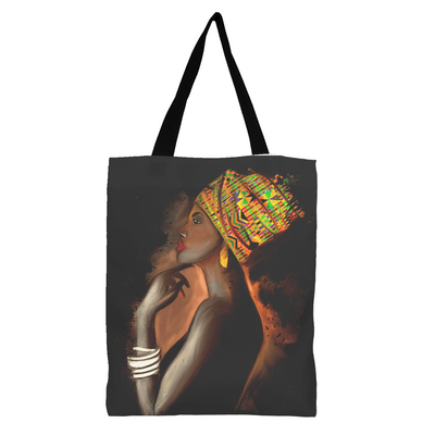 African Queen Black Excellence Tote Bag