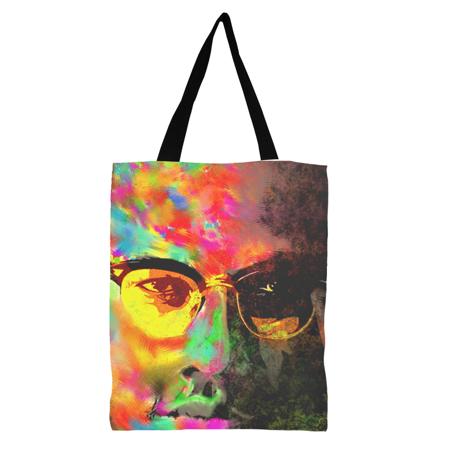Malcolm X Black Excellence Tote Bag