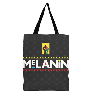 Afrocentric Melanin Queen Black Girl Magic Canvas Tote Bag