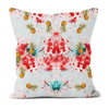 Pineapple Melody Faux Suede Cushions