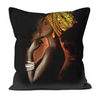African Queen Black Excellence Faux Suede Cushions