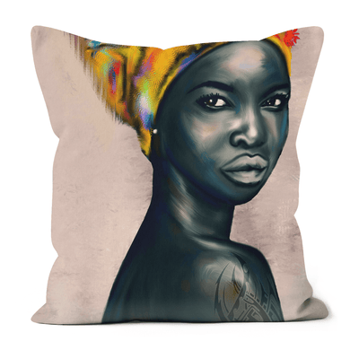 Black Rose Black Excellence Faux Suede Cushions
