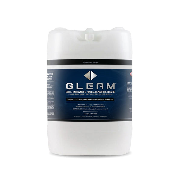 GLEAM™ Scale, Hard Water & Mineral Deposit Obliterator-Concentrate-5 Gallon Tub
