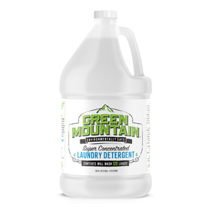 One Full Gallon of GREEN MOUNTAIN™ Super Concentrated Laundry Detergent-Washes 128 loads of laundry! WOW!