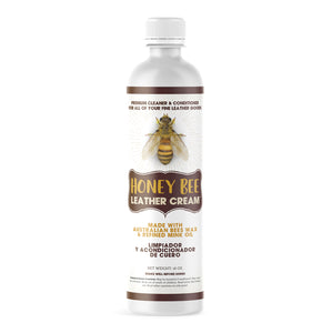 Honey Bee™ Leather Cream Cleaner & Conditioner