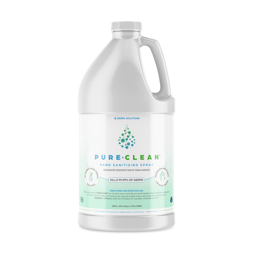 PURE•CLEAN™ Hand Sanitizing/Hard Surface Spray-70% Isopropyl Alcohol
