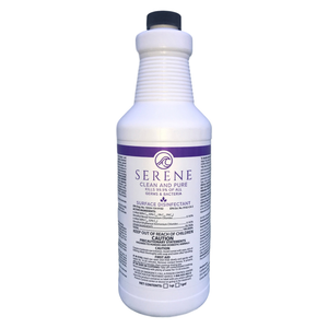 SERENE Clean and Pure-Disinfectant/Sanitizer/Cleaner-RTU