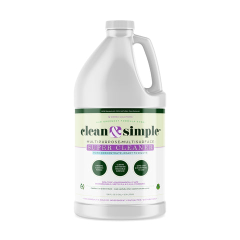 clean & simple™ SUPER CLEANER concentrate - Fresh New Look... Same Awesome Product!