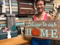 DIY Seasonal Wood Sign Workshop
