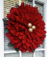DIY Poinsettia Wreath Workshop 11-16-19