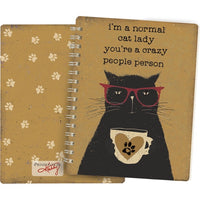 Cat Lady Spiral Notebook