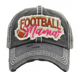 Football Momma Distressed Cap